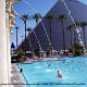 Outdoor Pool View Of Luxor Hotel And Casino In Las Vegas, NV