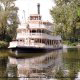 A riverboat cruise in Disneys Magic Kingdom Vacation in Orlando Florida.