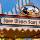 Snow Whites Scary Adventures attraction in Disneys Magic Kingdom Vacation in Orlando Florida.