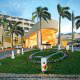 Main Entrance View at ME by Melia Cancun Resort in Cancun, Mexico. Aren't you lucky that you chose our hotel for your Family Summer Vacation Getaway?