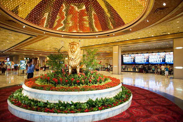 You could argue about which is the largest hotel in Vegas -- but in our minds, MGM Grand sure feels like it. This resort, which sits near th from $