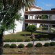 Beautiful Landscaping at the Ocean View Vacation Villas in Biloxi, Mississippi.