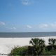 Beach View by the Ocean View Vacation Villas in Biloxi, Mississippi.