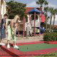 Mini Golf Court View at Best Western Lakeside Hotel in Orlando, Florida. Enjoy your favorite game during your Spring Break Family Vacation.