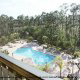Disney Package Deal.  View from above of the enormous pool at the Palisades Resort in Orlando, Florida.