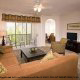 2 Bedroom Suites and a large living room in a timeshare suit at the Palisades Resort in Orlando, Florida.