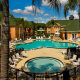 Panoramic Outdoor Pool View At Palms Hotel And Villas In Orlando / Kissimmee, FL.
