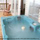 Hot tubs are available on the deck of your rental cabin at Eagles Ridge Resort in Pigeon Forge.