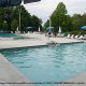 Large pools at the Eagles Ridge Resort in Pigeon Forge Tennessee.