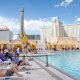 Planet Hollywood Resort and Casino pool closeup