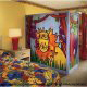 Colorful Children Room View at the Radisson Worldgate Resort in Orlando, Florida.