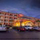 Exterior Night view at Hampton Inn Historic District in St. Augustine, Florida.