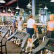 Guests enjoy the over sized fitness room at the Star Island Resort and Club in Orlando Florida with modern equipment to keep guests fit.