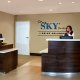 StaySky Suites front desk