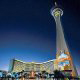 The Stratosphere Tower of The Stratosphere Casino, Hotel &amp; Tower in Las Vegas, Nevada. Affordable Vegas vacation packages now available at Rooms101.com.