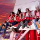 Stratosphere drop ride