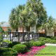 Landscaped Area view at Best Western Sweetgrass Inn in Charleston, South Carolina.