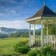 The Blue Mist Country Inn gazebo