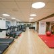 The Sheraton Hotel fitness center