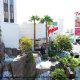 Outdoors at the Tropicana Hotel and Casino in Las Vegas, NV. This is a great place to come and visit for your Halloween Getaway.