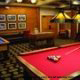 Recreation Room with pool tables at the Welk Resort in Branson Missouri.