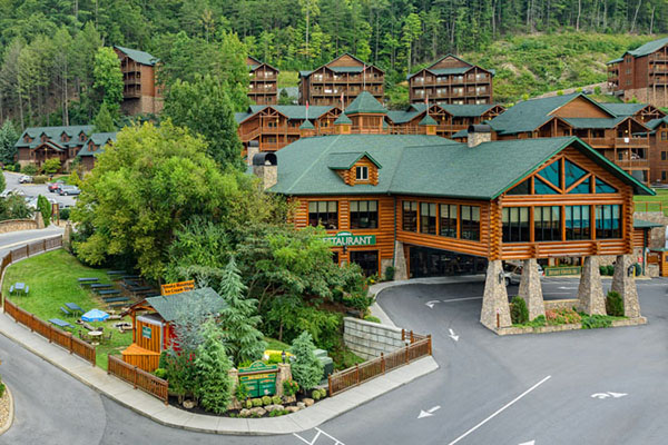 The Westgate Resort Pigeon Forge exterior. 59 Pigeon Forge Westgate Smoky Mountain 3 Days Package