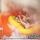 Large tube slide fits the whole family on board at the Wilderness Stone Hill Lodge in Pigeon Forge Tennessee.