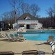 Serene Outdoor Pool View at Kings Creek Plantation in Williamsburg, VA.