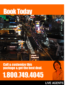 Call now to book Las Vegas Vacations