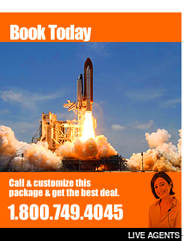 We have the best deals on travel in Cocoa Beach Florida and Kennedy Space Center tickets!