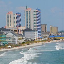 $199 Myrtle Beach SC | Romantic Getaway Vacation Deal | 3 Days 2 Nights | Beach front Suite | FREE $100 Dining Card