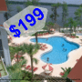 $199 ( All Inclusive ) | Orlando, Florida | President's Day Weekend Vacation Getaway | 4 Days 3 Nights | Grand Beach Resort | 2 Bedroom Condo | FREE $100 Visa Card | Free $25 Dining Dough