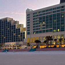 $269 | Hilton Ocean Walk Village Hotel | Spring Break Daytona Beach Vacation | Deluxe Hotel Room | 5 day 4 night | $50 Dining Dough