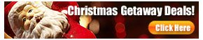Christmas travel specials and deals from rooms101.  We have the lowest priced christmas getaway vacation package deals on the internet.