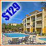 $129 (All Inclusive) 3 Days 2 Nights | St. Augustine, FL | Thanksgiving Vacation Special | Hampton Inn Vilano Beach | Free Breakfast | $25 Dining Dough