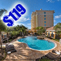 $119 (All Inclusive) | Orlando, FL | Presidents Day Vacation Package | Hilton Garden Inn | 4 Days 3 Nights | Deluxe Hotel Room | Free $100 Dining Dough