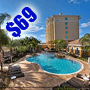 $69 (All Inclusive) | Orlando, FL | Discount Vacation Deal | Hilton Garden Inn | 3 Days 2 Nights | Deluxe Hotel Room | Free $100 Dining Dough