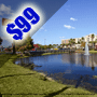 $99 (All Inclusive) | Orlando / Kissimmee, FL | Discount Vacation Deal | Clarion Hotel Maingate | 3 Days 2 Nights | Deluxe Hotel Room | Free $25 Dining Dough
