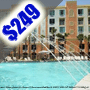 $249 (All Inclusive) | Orlando, FL | Christmas Family Vacation | Holiday Inn Resort | 4 Days 3 Nights | Deluxe Hotel Room | Free $50 Dining Dough