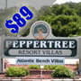 $89 ( All Inclusive ) Atlantic Beach, NC | Cheap Getaway Vacation Package | 3 Days 2 Nights | Peppertree Resort | FREE $25 Dining Card