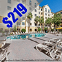 $219  ( All Inclusive ) | Orlando, FL | 4 Days 3 Nights| Summer Camp Getaway | Hawthorn Suites Universal | Deluxe Hotel Room | Free $50 Dining Dough