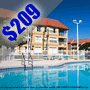 $209 | Orlando, FL | Parc Corniche Condominium Suite Hotel  | 5 Days And 4 Nights | 1 Bedroom Suite | Back To School Specials Vacation | $50 Dining Dough
