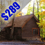 $289 ( All Inclusive ) 4 Day | Pigeon Forge Presidents Day Vacation | 1 Bedroom Cabin | Cabin 70 | Pet Friendly | FREE $25 Dining Dough | FREE $100 VISA Card