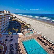 $1 | Inn on the Beach Resort | Easter Daytona Beach Vacation | Deluxe Hotel Room | 3 Day 2 Night | Discount Hotel Rate