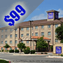 $99 ( All Inclusive ) | San Antonio, TX | 3 Days And 2 Nights | Cheap Thanksgiving Family Vacation | Sleep Inn & Suites Near Seaworld  | Limited Availability | $25 Dining Dough