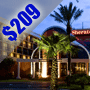 $209 | Orlando FL | Discount Disney World Vacation Package | Sheraton Orlando North Hotel  | 3 Days And 2 Nights | 2 Free Disney World Passes | $25 Dining Dough