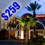 $259 | Orlando FL | Discount Disney World Vacation Package | Sheraton Orlando North Hotel  | 4 Days And 3 Nights | 2 Free Disney World Passes | $25 Dining Dough