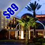 $89 | Orlando FL | Vacation Package Deal | Sheraton Orlando North Hotel  | 3 Days And 2 Nights | Deluxe Hotel Room | $25 Dining Dough