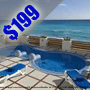 $199 ( All Inclusive ) | 3 Day 2 Night | Cancun, Mexico | Presidents Day Vacation | BelleVue Beach Paradise Hotel | Deluxe Hotel Room