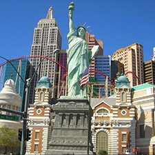 $399 | New York-New York Hotel and Casino | Easter Las Vegas Vacation | Deluxe Hotel Room | 3 Day 2 Night | $50 Dining Dough